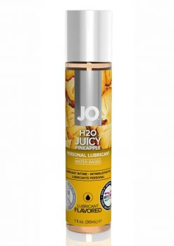 Jo H2O Water Based Flavored Lubricant Juicy Pineapple 1 Ounce
