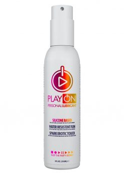 Play On Silicone Based Personal Lubricant 8 Ounce Pump