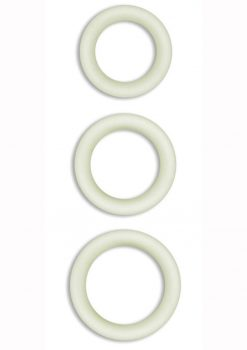 Firefly Halo Small Silicone Cock Ring Clear