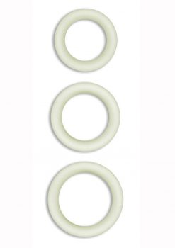 Firefly Halo Medium Silicone Cock Ring Clear