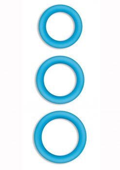 Firefly Halo Small Silicone Cock Ring Blue