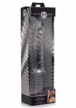 Master Series Battle Tammer Phallic Glass Thruster