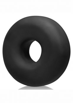 Big Ox Super Mega Stretch Silicone Cock Ring Black Ice