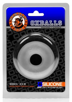 Big Ox Super Mega Stretch Silicone Cock Ring Cool Ice