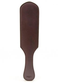 Coco de Mer Leather Paddle Brown