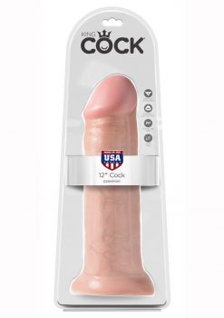 King Cock Realistic Dildo Flesh 12 Inch