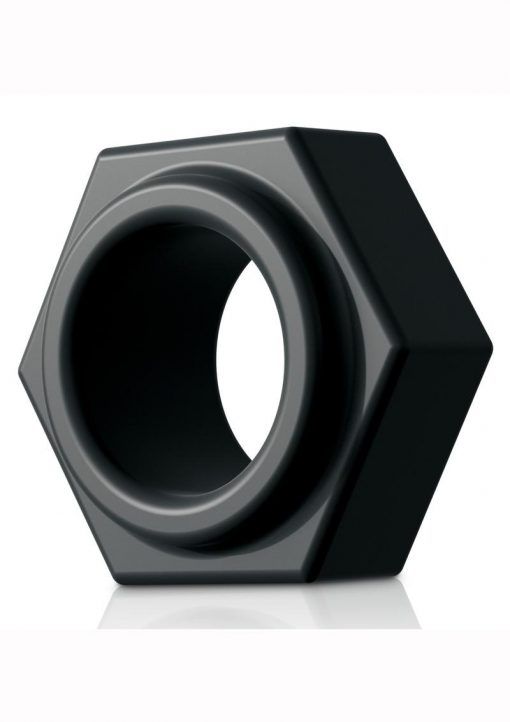 Sir Richards Control Super Nut C-Ring Silicone Black
