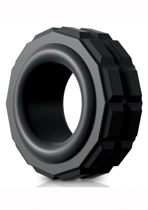 Sir Richards Control High Performance C-Ring Silicone Black