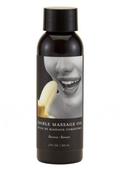 Earthly Body Edible Massage Oil Banana 2 Ounce