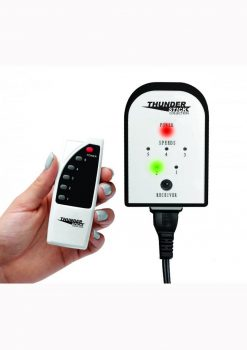 Master Series Thunder Touch Remote Control 5 Speed Controller White/Black