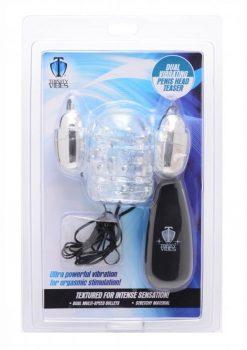 T4m Dual Vibrating Penis Head Teaser