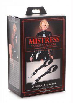 Mistress Isabella SinclaIre Universal Restraints