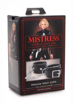Mistress Isabella SinclaIre Premium Wrist Cuffs
