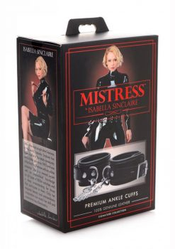 Mistress By Isabella Sinclaire Premium Ankle Cuffs