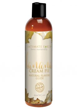 Intimate Earth Natural Flavors Glide Banana Creampie 2oz