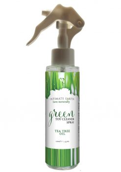 Intimate Earth Green Toy Cleaner Spray Tea Tree Oil 4.2oz