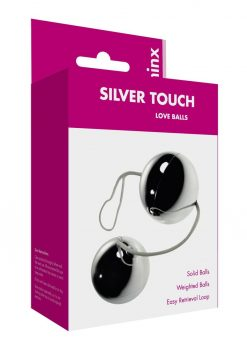 Minx Silver Touch Love Balls Weighted Waterproof Silver