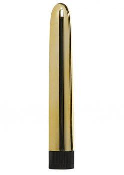 Minx Sensuous Classic Vibrator Gold 6 Inches