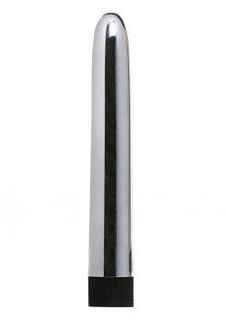 Minx Sensuous Classic Vibrator Silver 6 Inches