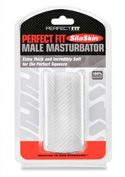 Perfect Fit Male Maturbator SilaSkin - Clear
