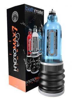 Bathmate Hydromax7 Wide Boy Penis Pump Waterproof Blue
