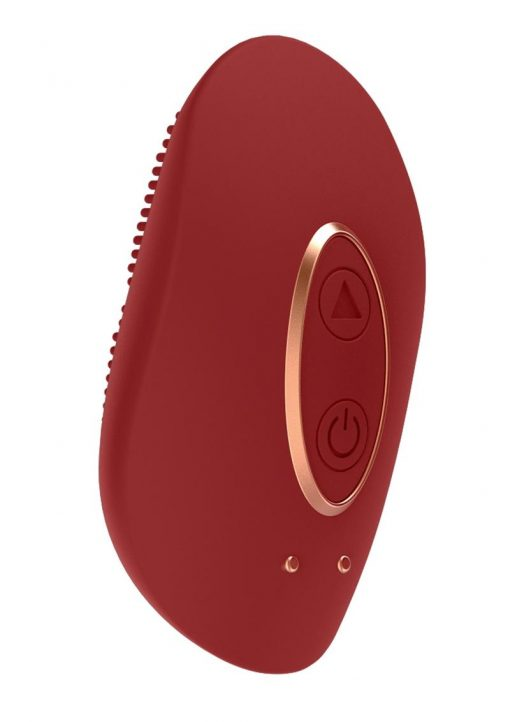 Elegance Precius Mini Clitoral Stimulator Silicone USB Magnetic Rechargeable Vibe Waterproof Red 2.51 Inch