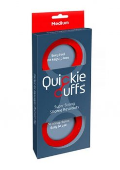 Quickie Cuffs Silicone Red Medium
