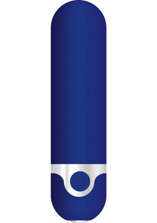 My Blue Heaven USB Rechargeable Bullet Waterproof Blue 3.48 Inch