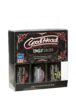 GoodHead Tingle Drops Assorted Flavors 3 Each Per Pack