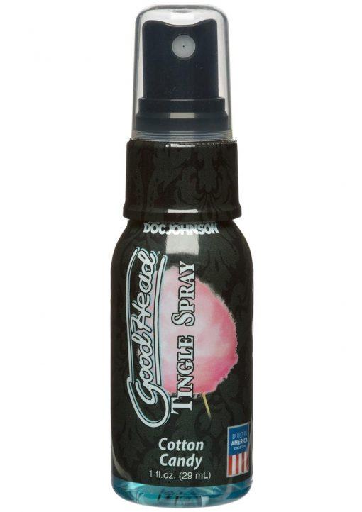 GoodHead Tingle Spray Cotton Candy 1 Ounce
