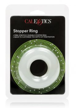 Stopper Ring Penetration Reducing Cockring Clear 1.5 Inch Diameter