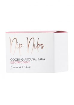 CG Nip Nibs Cooling Arousal Balm Electric Mint .5 Ounce Jar