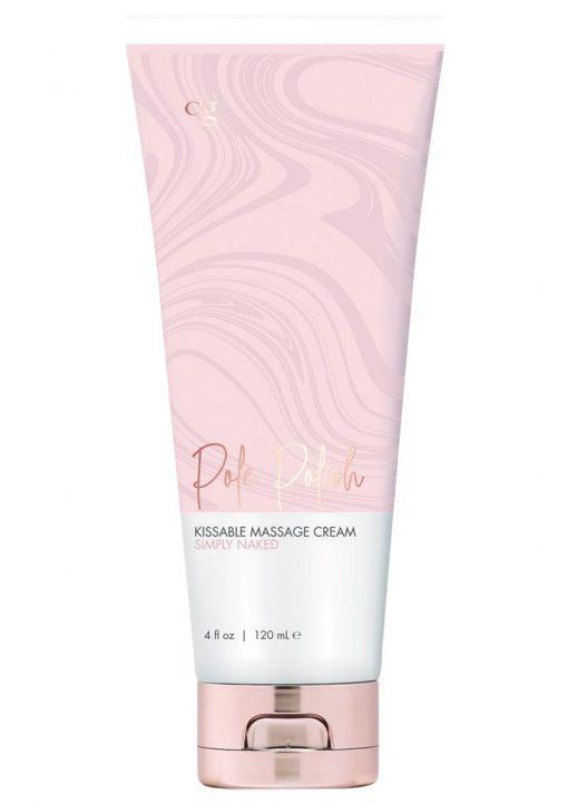 CG Pole Polish Simply Naked Massage Cream 4 Ounces