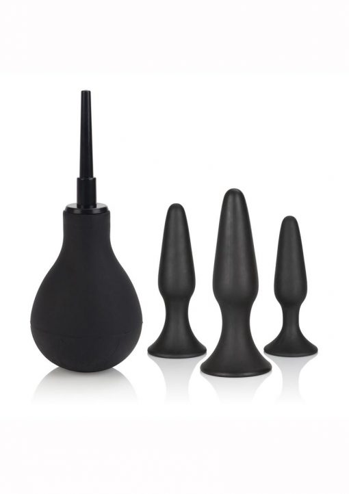Ultimate Anal Kit Silicone Black