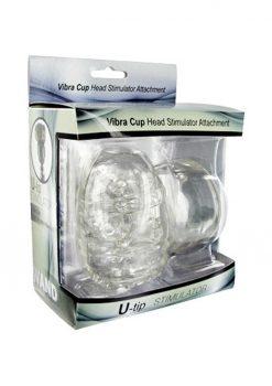 Wand Essentials Vibra Cup Wand Attachment Male Masturbator Massager Attachment