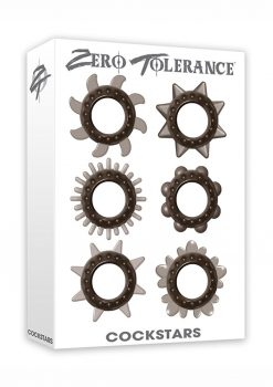 Zero Tolerance Cockstars Waterproof Smoke 6 Assorted Shapes Per Pack