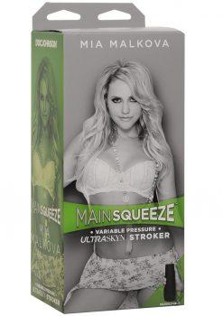 Main Squeeze Mia Malkova UltraSkyn Stroker Realistic Pussy Vanilla 8 Inches