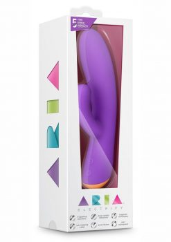 Aria Electrify Plum Multi Spreed Vibe Waterproof Rechargeable