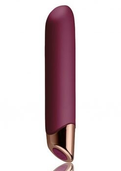 Chaiamo Burgundy Vibrator Waterproof Multi Function