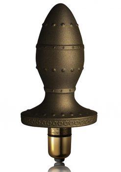 Dr. Rocco`s Pleasure Emporium Dominus Bronze Vibrating Anal Plug