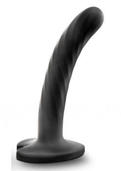 Temptasia Twist Dildo Small Silicone - Black