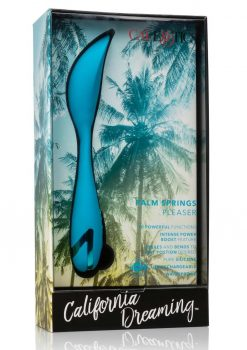 California Dreaming Palm Springs Pleaser Multi Function Vibrator Rechargeable