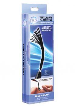 Zeus Electrosex Extreme Twilight Flogger Silicone eStim Attachment