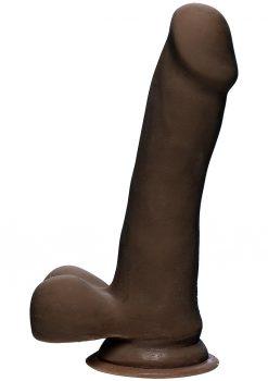 The Slim D W/balls 6.5 Dildo Non Vibrating