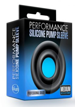 Performance Silicone Pump Sleeve Black Medium