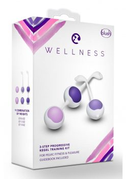 Wellness Kegel Training Kit Purple Silicone