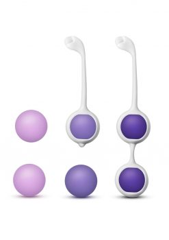 Wellness Kegel Training Kit Purple Silicone