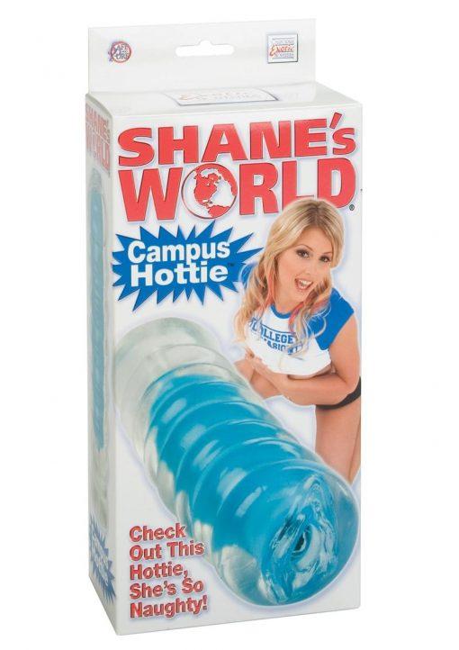 SHANES WORLD CAMPUS HOTTIE PUSSY STROKER BLUE