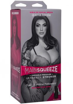 Main Squeeze Girls Of Social Media Ana Lorde Ultraskyn Stroker Pussy Masturbator Vanilla 9 Inches