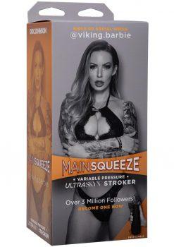 Main Squeeze Girls Of Social Media Viking Barbie Ultraskyn Stroker Pussy Masturbator Vanilla 9 Inches